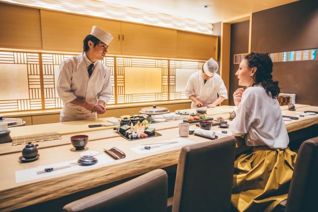 子供と寿司屋に行くならカウンター