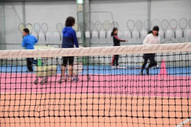 テニス練習法 子供